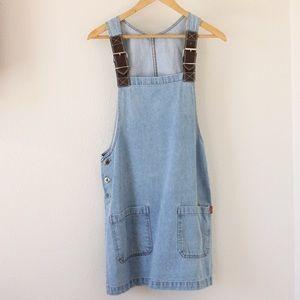 Vintage denim dress overall